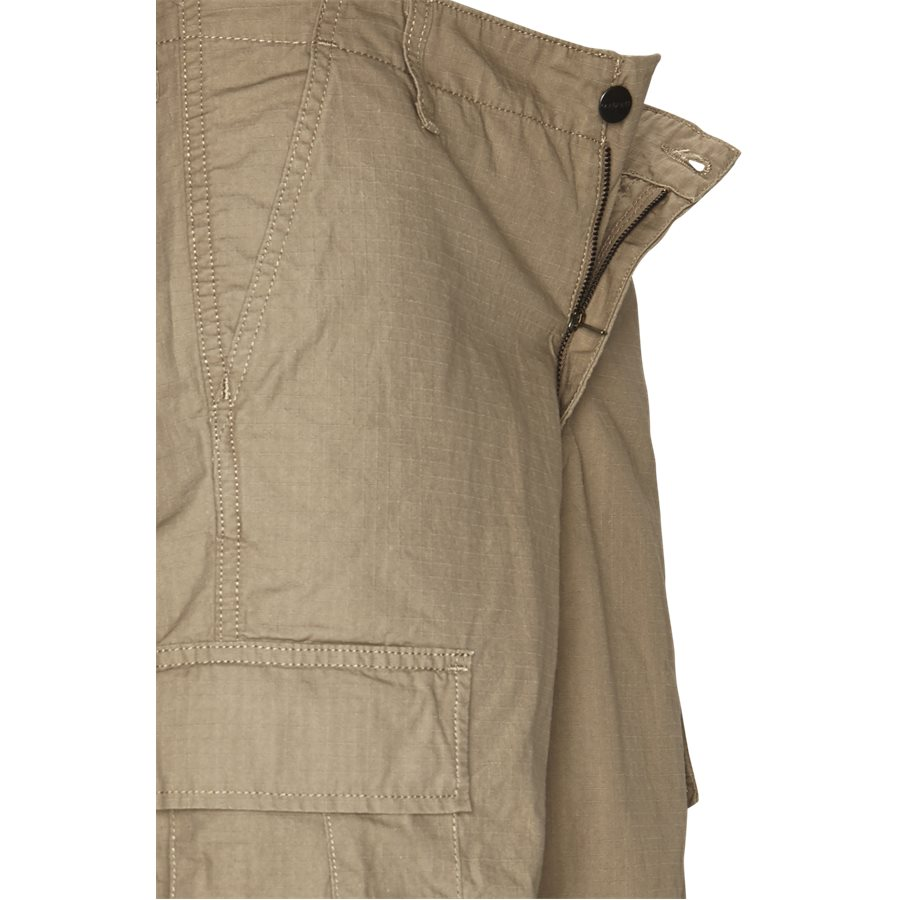 REGULAR CARGO SHORT I015999 - Regular Cargo Shorts - Shorts - Regular - LEATHER RINSED - 4